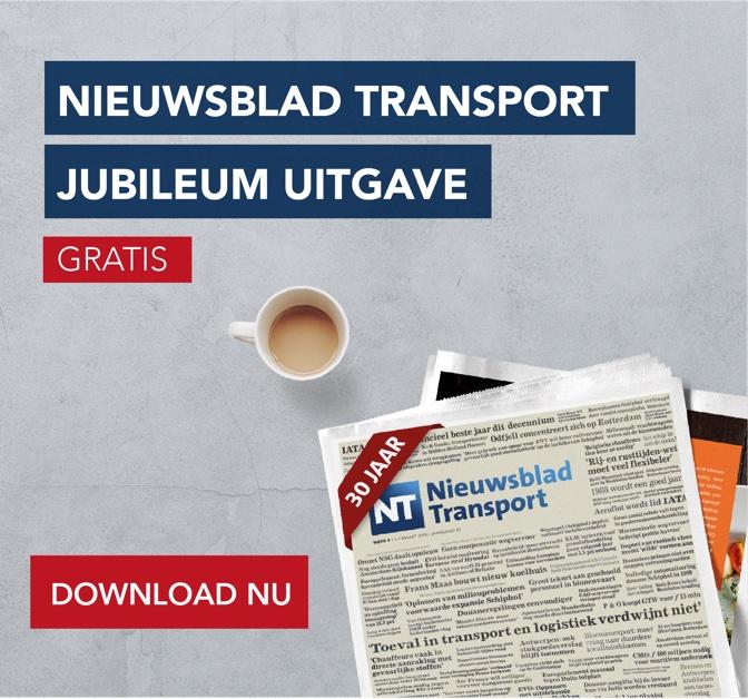 Jubileum editie Nieuwsblad Transport