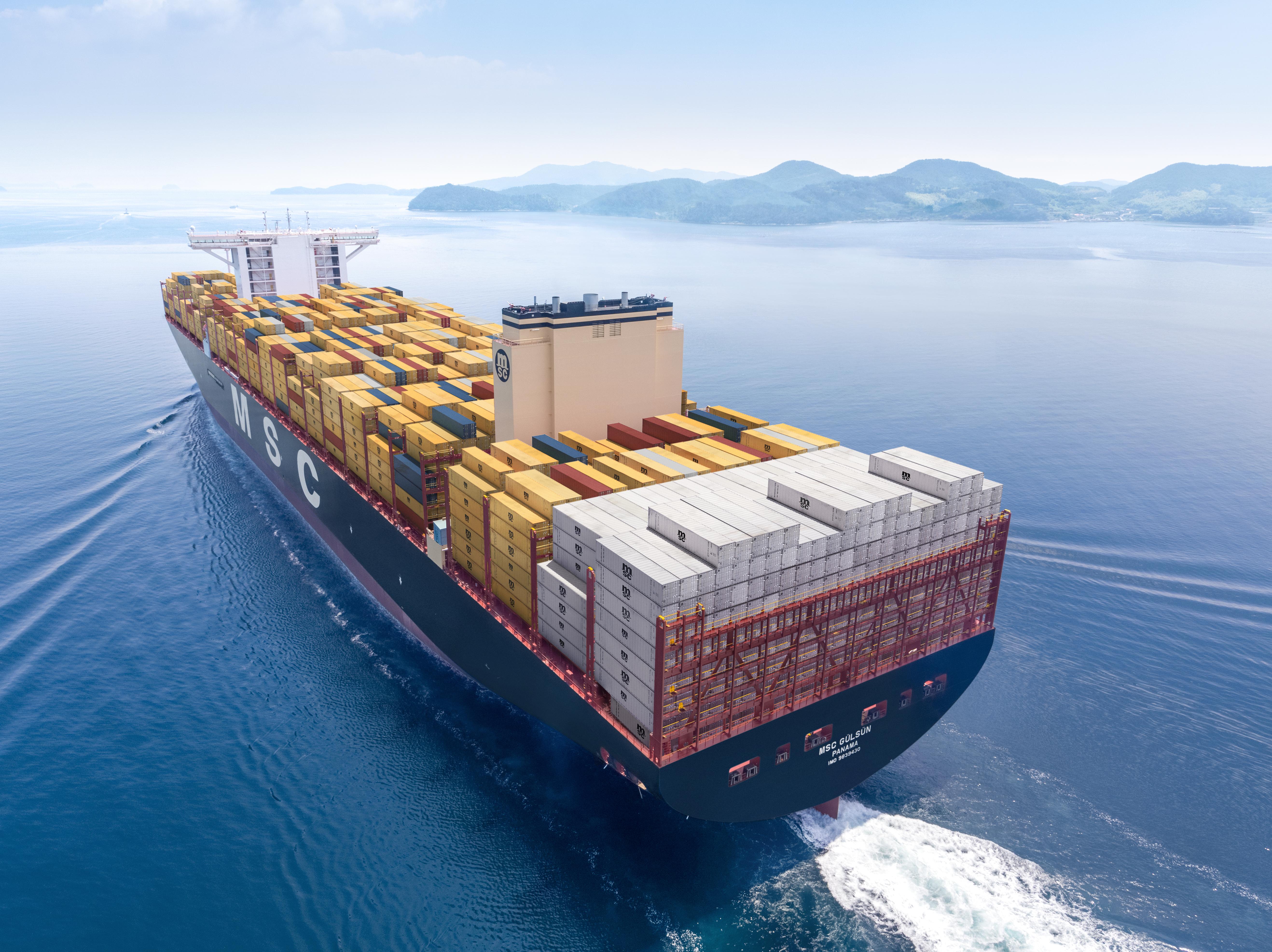 MSC Gulsun, teu, containerschip