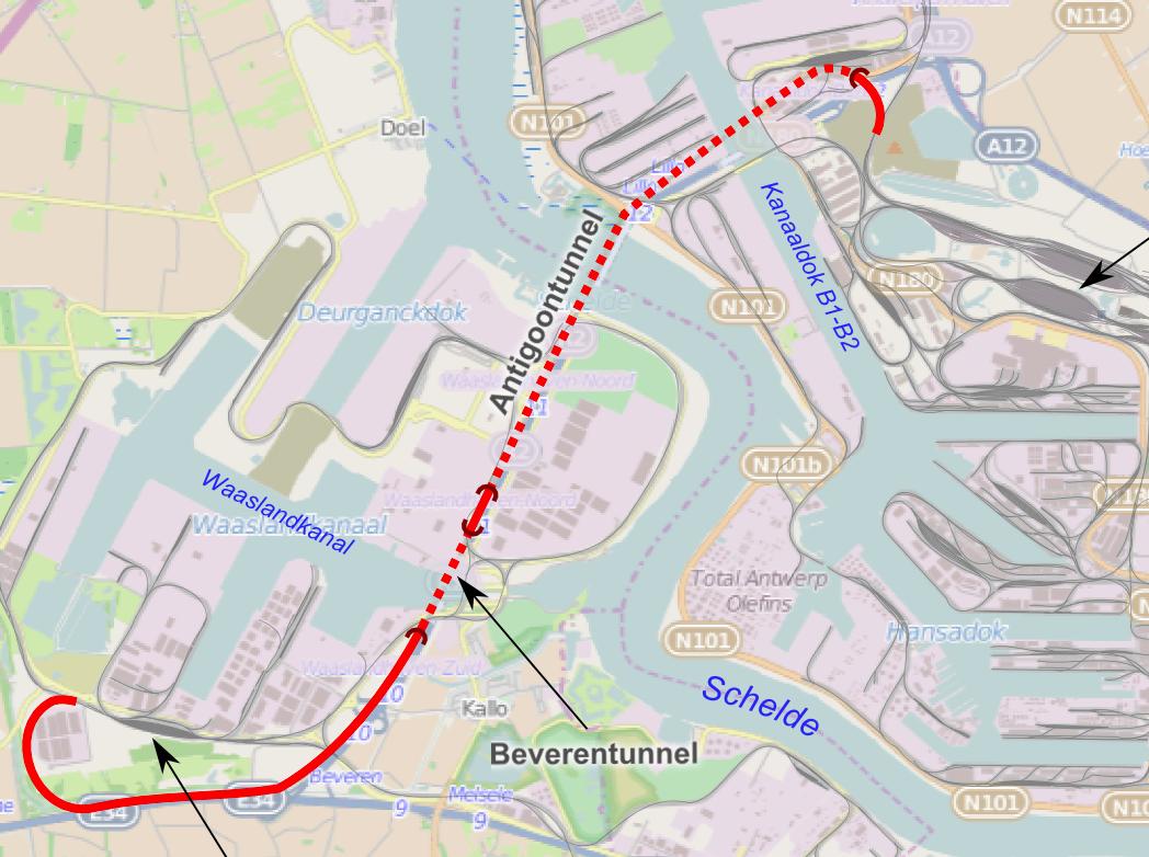 Antwerpse Spoortunnel Na Treinbotsing Dagenlang Gestremd Nieuwsblad Transport