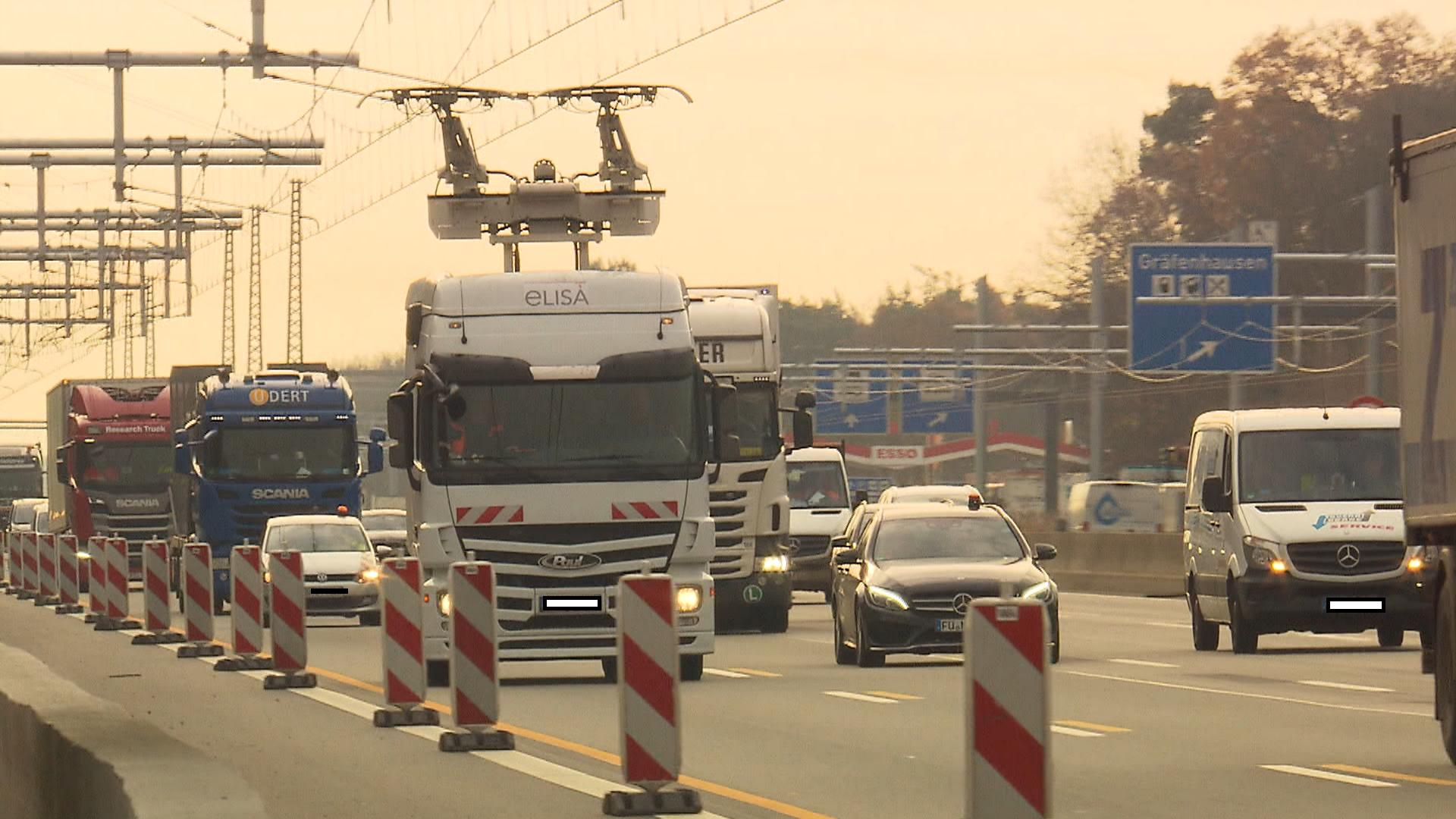 Trolleytruck in Duitsland