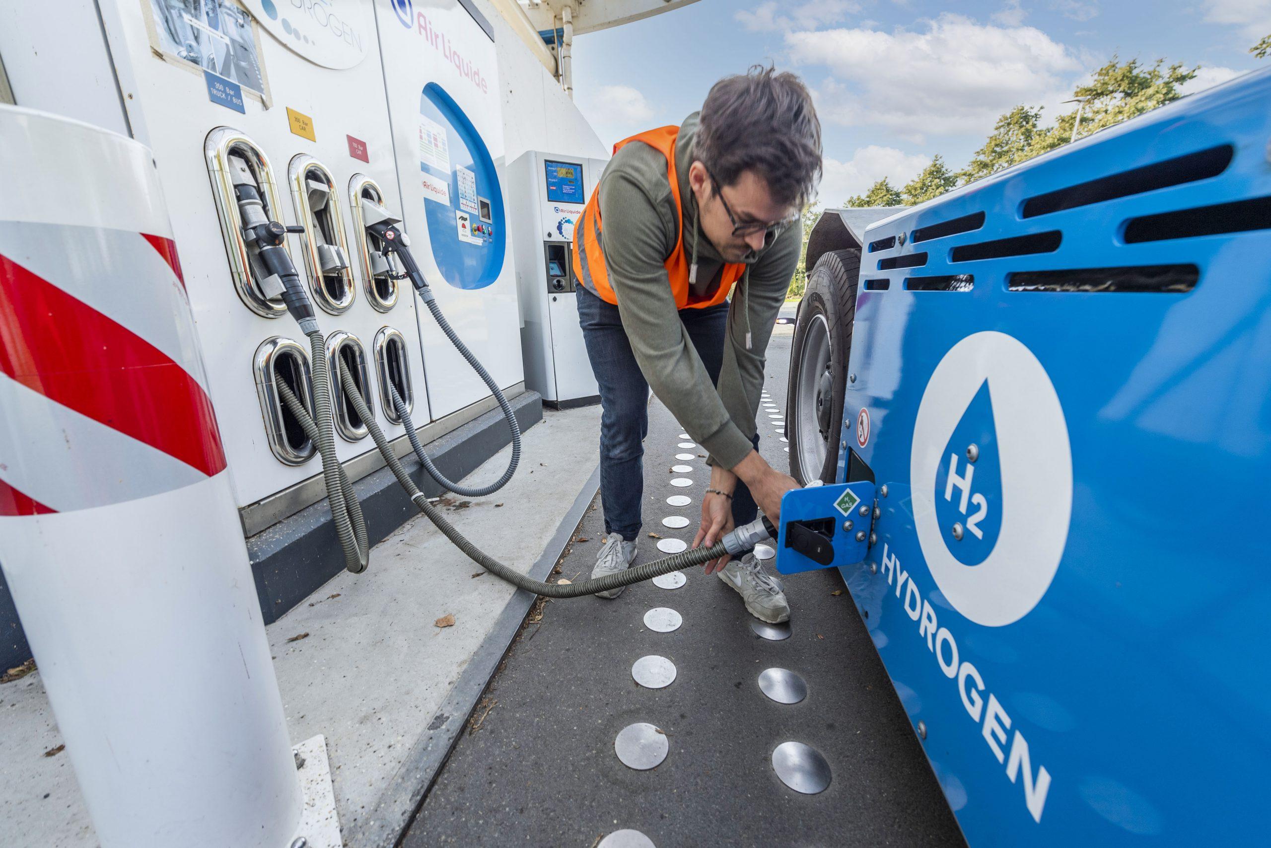 Eerste terminaltrekker op waterstof Terberg