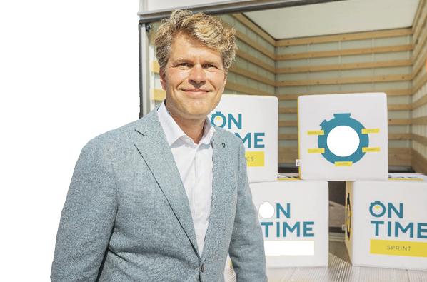 Filip Goossens, ceo On time logistics