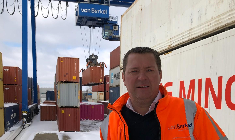 Directeur Michel van Dijk Van Berkel Logistics