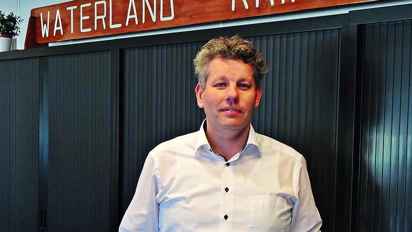directeur Henri Honkoop van bevrachtingskantoor Honkoop Barging