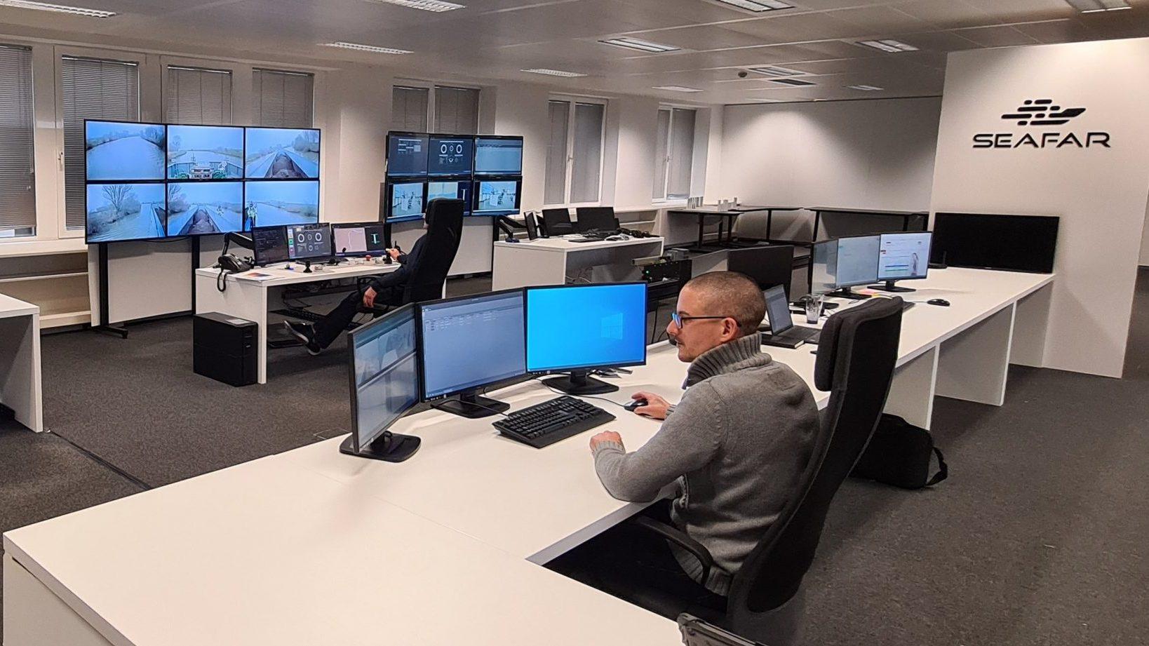 © SeaFar Centre de commandes SeaFar Anvers