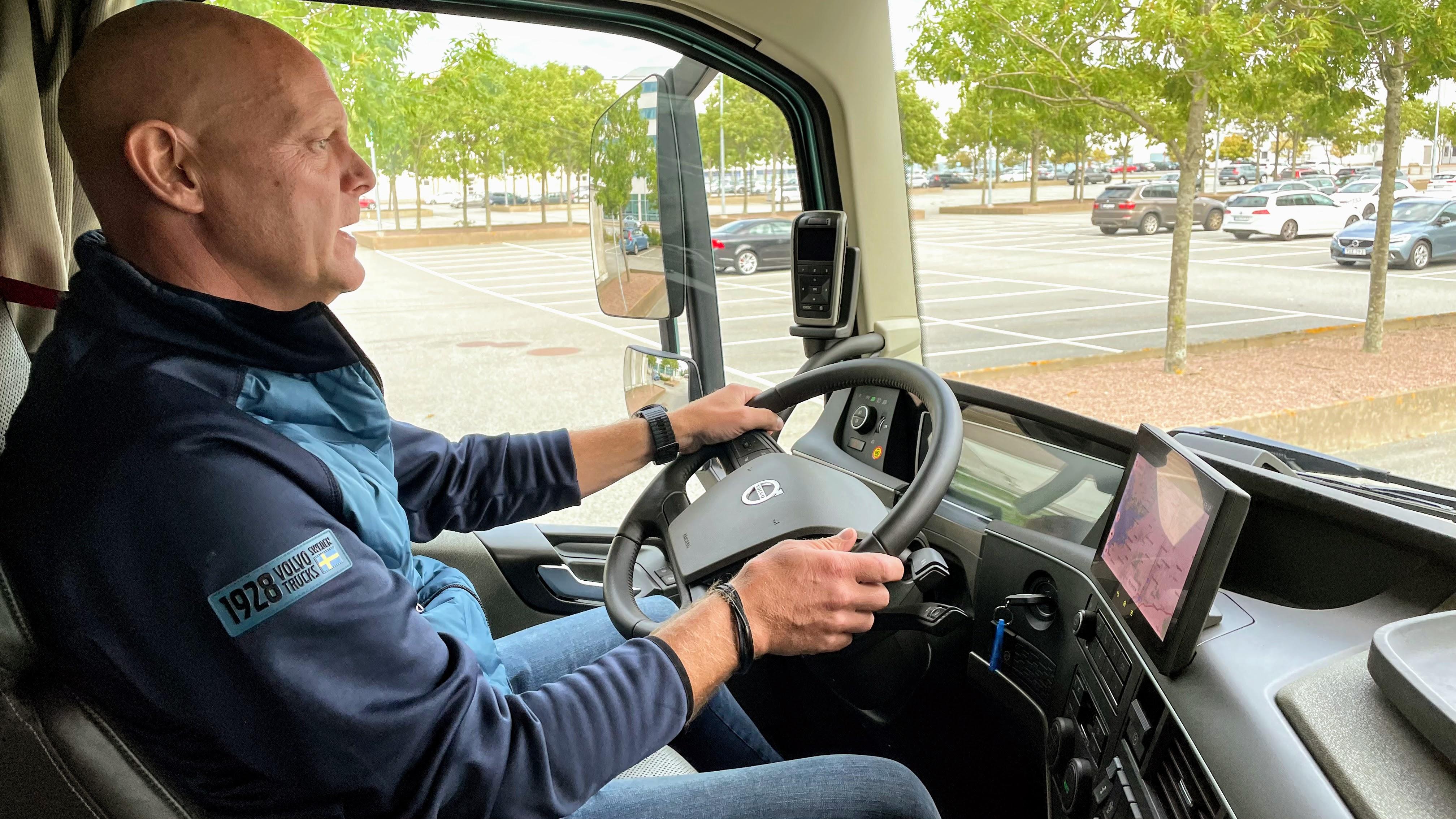 Volvo, Elektrische Truck, Chauffeur