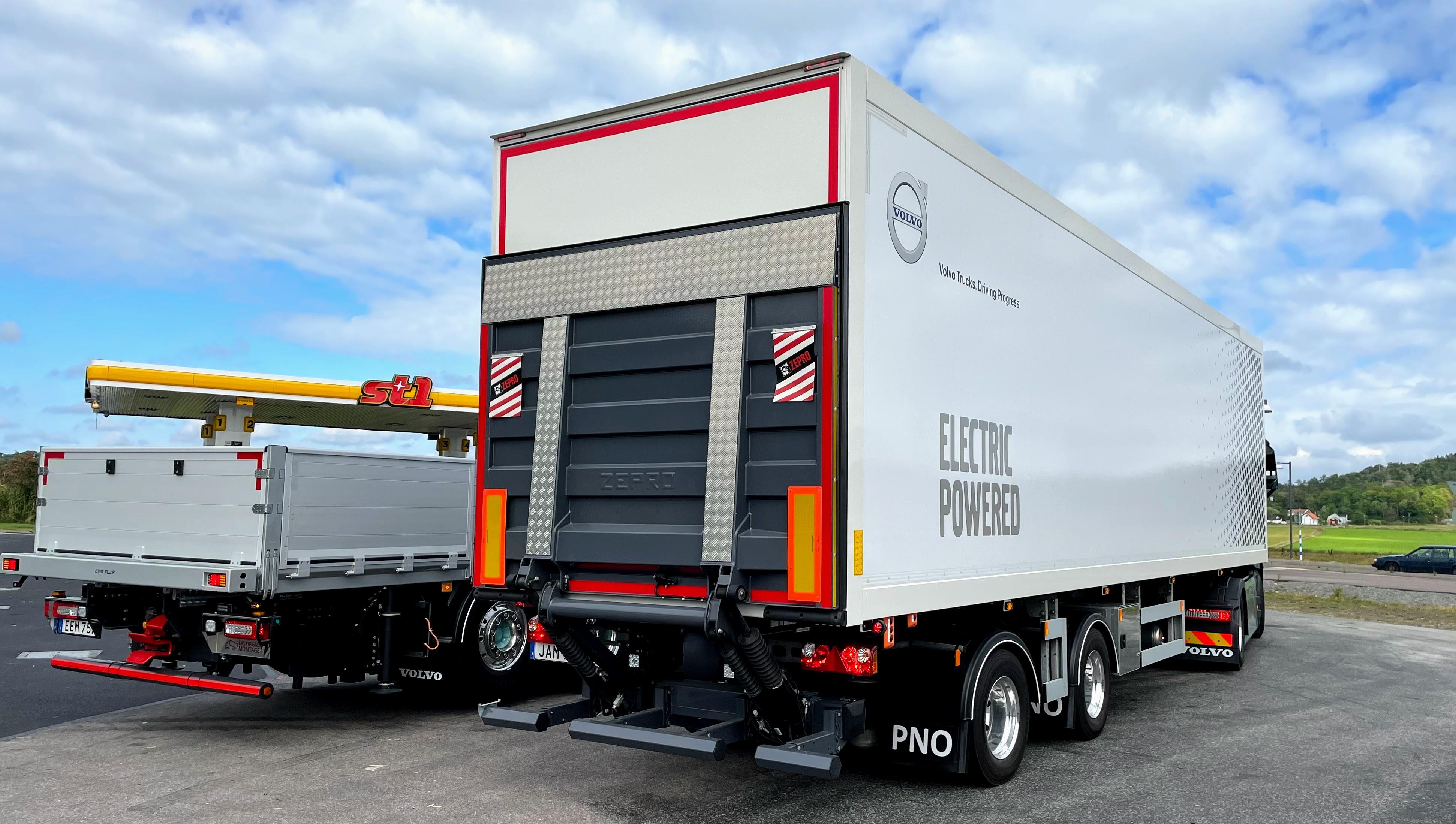 Volvo, Elektrische Trucks, FH
